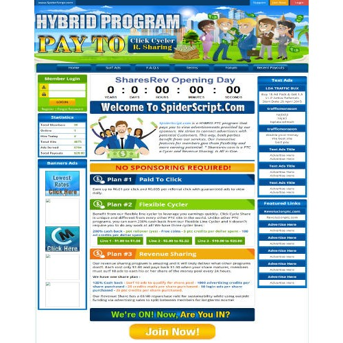 Hybrid Revenue Sharing PTC Cycler + Template 2