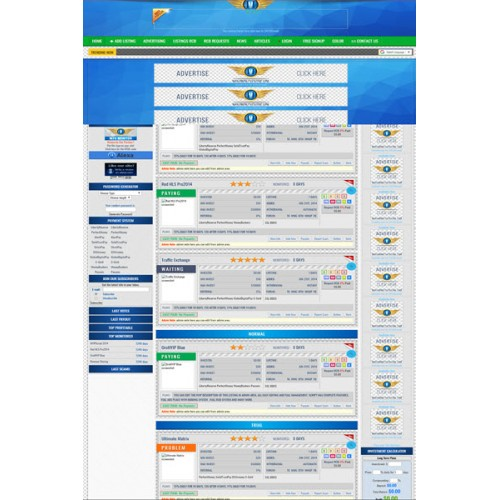 HYIP Lister Pro Template 11