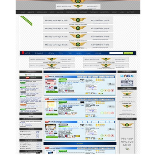 HYIP Lister Pro Template 7
