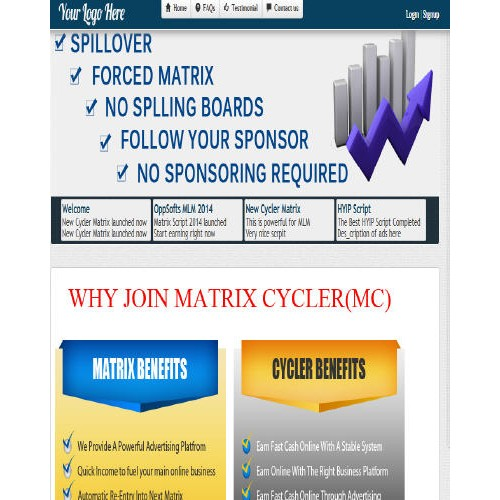 Oppsofts MLM Matrix Script 2014